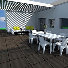 Veranda abitazione privata